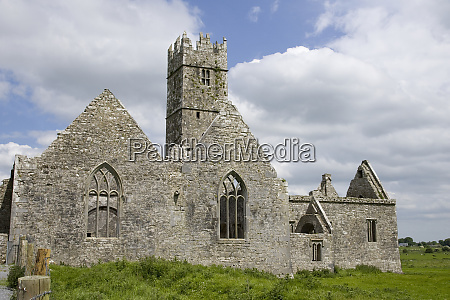 ireland galway view of the medieval