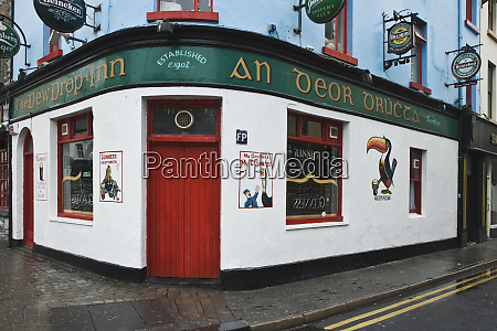 ireland galway city exterior of the