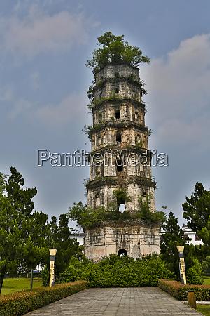 ancient pagoda huangshan area china