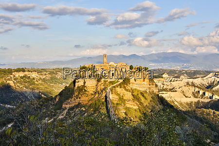 italy civita a view of the