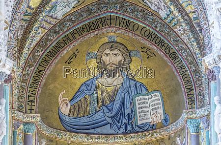 europe italy sicily cefalu cefalu cathedral
