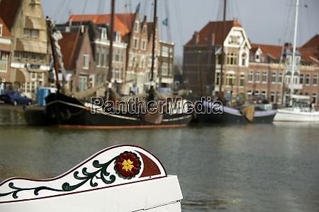 europe the netherlands aka holland hoorn