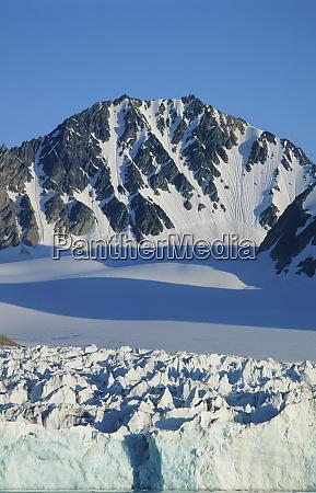 norway spitsbergen arctic archipelago svalbard tidewater