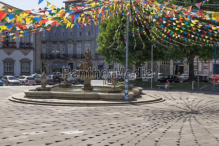 portugal minho province braga urban area
