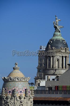 spain catalonia barcelona barcelona roof top