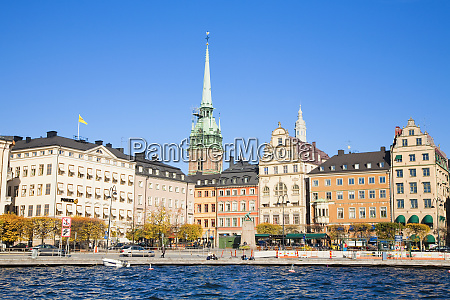 stockholm sweden view from the