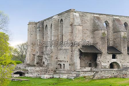 ruins of pirita convent st brigitta