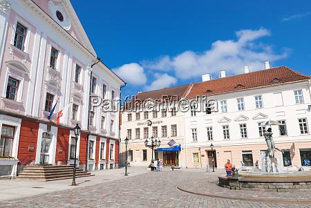 raekoja square raekoja plats tartu estonia
