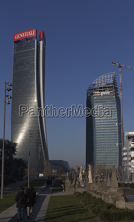 new citylife district in milan