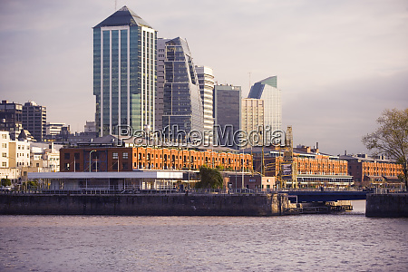 puerto madero waterfront buenos aires argentina