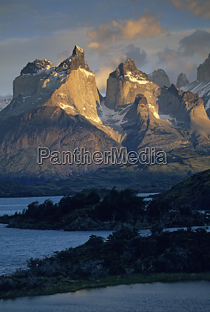 chile patagonia torres del paine national