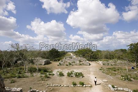 north america mexico yucatan merida dzibilchaltun