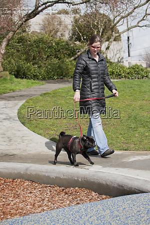 seattle washington state usa woman walking