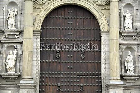 south america peru lima historical plaza