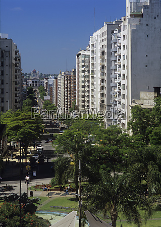south america uruguay montevideo sun washed