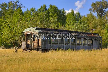 anacortes washington state rusted retired train