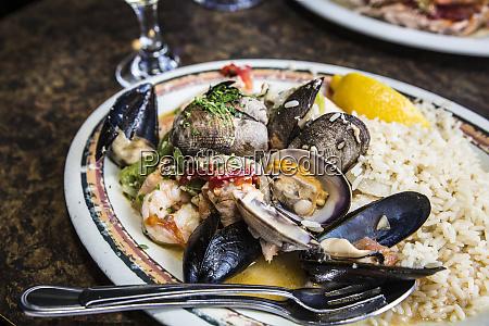 seattle washington state sauteed clams muscles