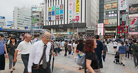 tokyo japan 25 june 2019 people