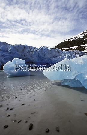 north america united states alaska glacier