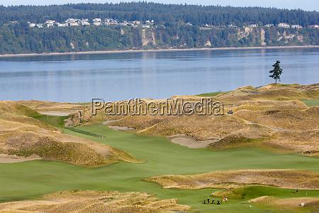 wa pierce county chambers bay golf