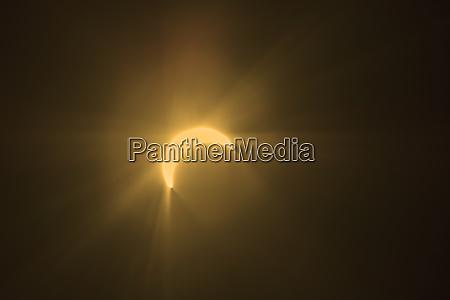 washington state redmond partial eclipse of