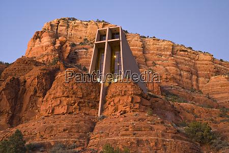 usa arizona sedona chapel of the