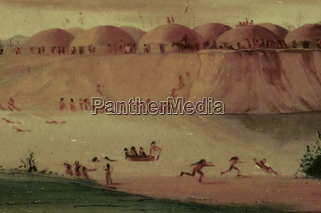 historic painting by george catlin from