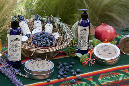 product line of lotions creams and