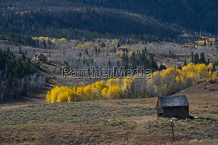 usa colorado crystal scenic landscape with