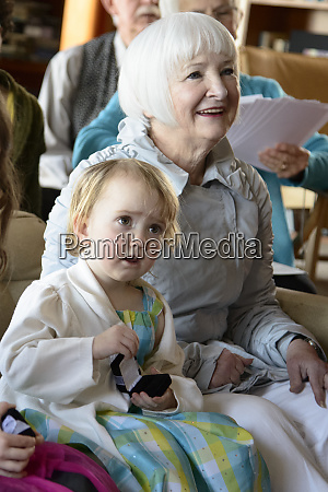 young girl with older woman at