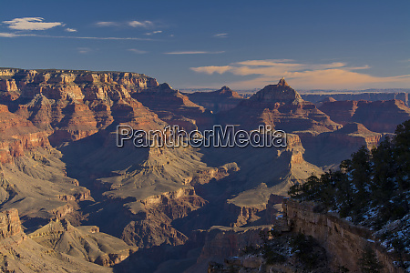 view from pullout south rim grand