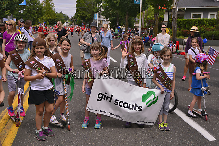 usa oregon portland girl scouts in