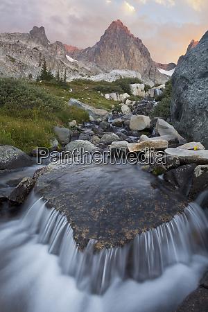 usa california inyo national forest stream