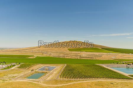 usa washington state richland aerial view