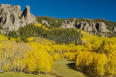 usa colorado fall colors landscape