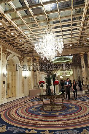 inside the fairmont copley plaza hotel