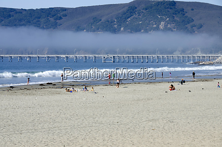 california pacific coast avila beach pier