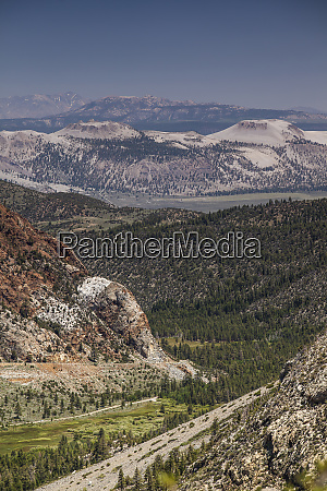 the inyo craters from the tioga