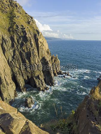 usa oregon manzanita coastal view at