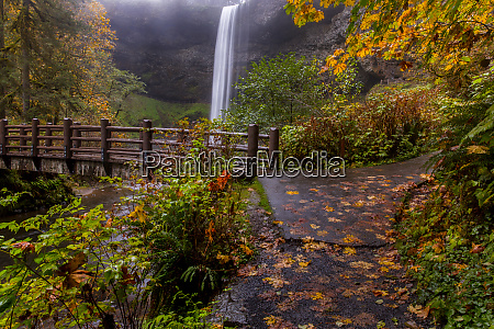 south falls in autumn at silver