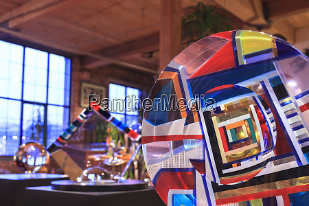 david huchthausen glass artist bemis building