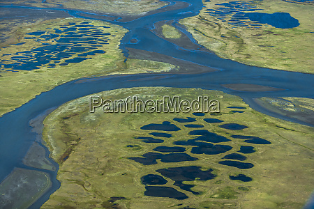 kongakut river and permafrost arctic national