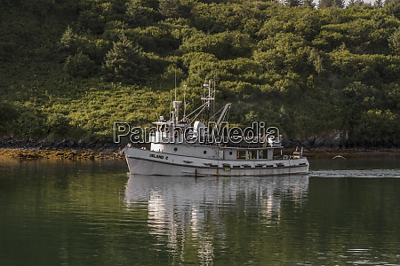 usa alaska kodiak commercial fishing boat