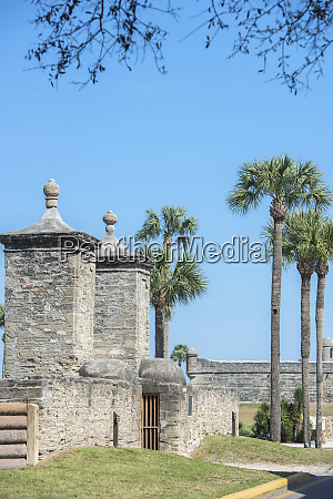 usa florida st augustine the town