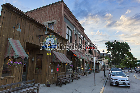 historic downtown district of buffalo wyoming