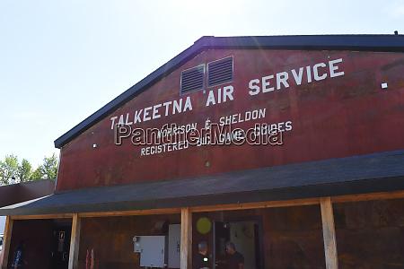 usa alaska talkeetna air service for