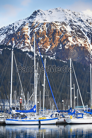 usa alaska seward boat harbor