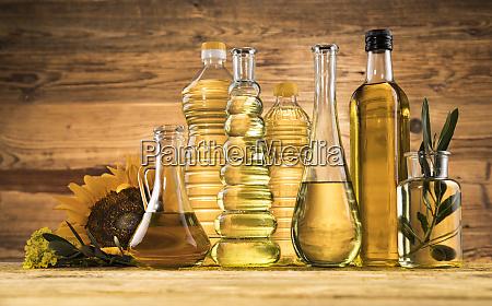 olive oil bottles olive branch and