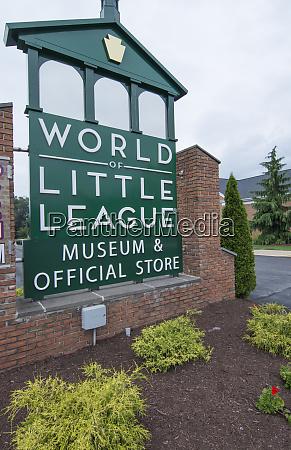 williamsport pennsylvania home of little league
