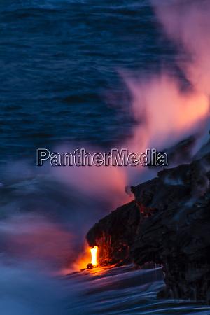 usa hawaii the big island kilauea
